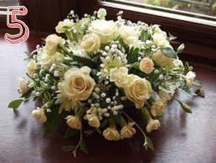 Arreglo Floral Para Centro De Mesa Rosas Y Claveles