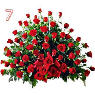 Arreglo Floral 15 Años Ladiolas Hierberas Y Rosas Run